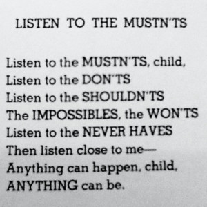 Shel Silverstein motivational inspirational love life quotes sayings ...