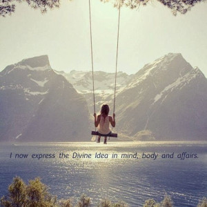 Divine Idea #affirmation #mantra #visualization quote: The Power of ...