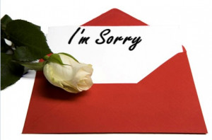 ... sorry quotes. Read these sorry quotes and quotations and use them on