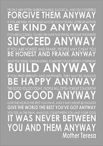 Mother-Teresa-Do-It-Anyway-Word-Typography-Words-Inspiring-Quote-Poem ...