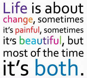 Life Is About Change: Quote About Life Is About Change ~ Daily ...
