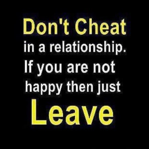 Cheating Quotes For Relationships
