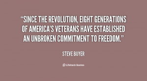 Since the Revolution, eight generations of America's veterans have ...