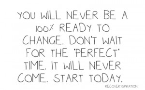 start today change picture quote