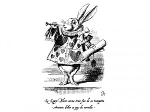 White Rabbit Alice in Wonderland Quotes