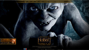 Check the new look of The Hobbit Website!