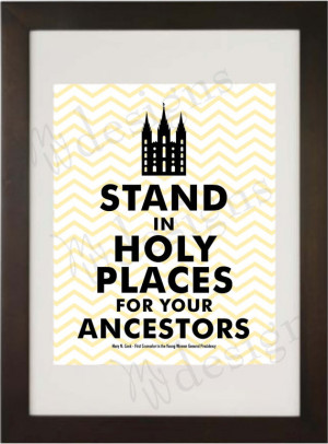 Stand in Holy Places for... by Mary N. Cook - LDS General YW ...
