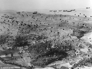 Fighting forces: American parachutists land between Nice and Marseille ...