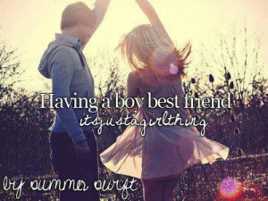 Having A Boy Best Friend