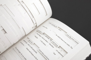 Tree of Codes: half book, half jigsaw puzzle