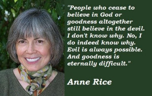 Anne rice famous quotes 2