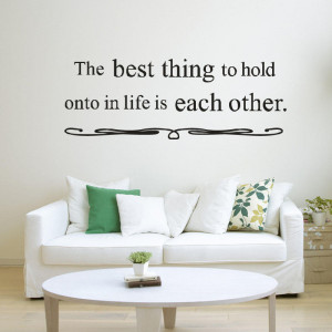 Free Shipping m004 The Best Thing To Hold On...Inspirational quotes ...