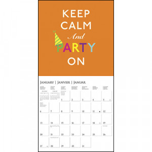 Home > Obsolete > FY15 Obsolete >Keep Calm 2013 Wall Calendar