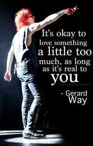 My Chemical Romance ~ Gerard Way secretly saying fandom obsession is ...