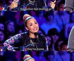 Demi Lovato Quotes About Bullying Bullying quote... demi lovato