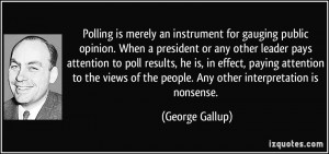 More George Gallup Quotes