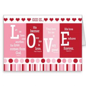 Christian Valentine Card