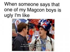 ... image include: magcon, friends, jack johnson, magcon quotes and mine