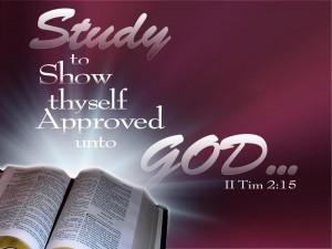 Timothy 2:15 – Bible Study Papel de Parede Imagem