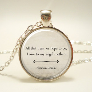 Thank You Mom Quotes In Spanish Inspirational quote necklace