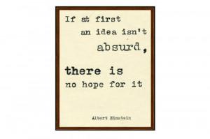 Framed Quotes Albert Einstein