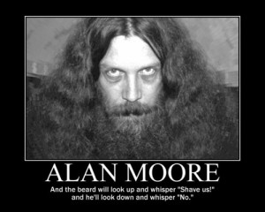 Alan moore master of comics and beards