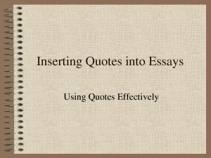 the importance of essay writing