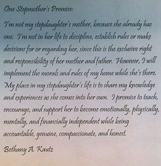 Stepmother's Promise More