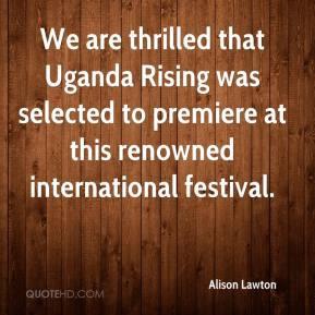 Uganda Quotes
