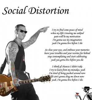 Social Distortion Image