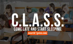 Funny Lazy Quotes about Classroom