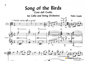 Pablo Casals Song of the Birds