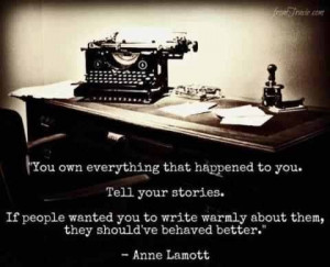 Tell everyone your story!