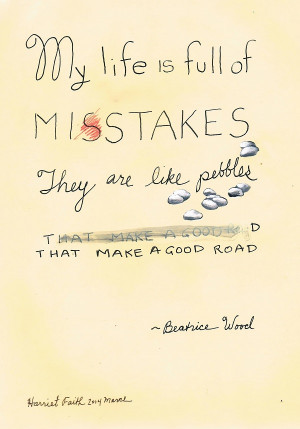 Lettering, Art, Painting, Harriet Faith, Inspirational, Beatrice Wood ...