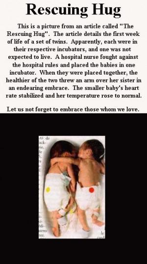 Hugs help harbor healthy hearts!