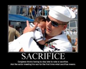 Love is Sacrifice!
