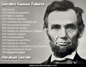 Famous quotes abraham lincoln