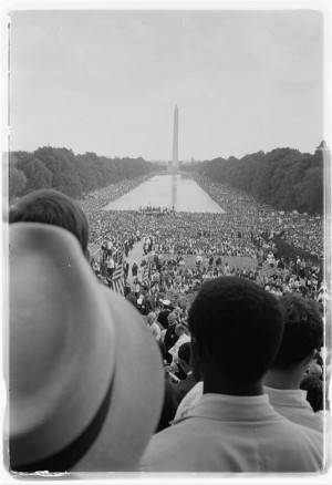 Civil rights march in Washington, D.C., August 28, 1963. Photo by ...