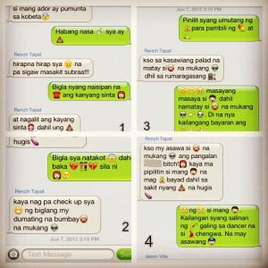 Dugtungan with emoji. Hahaha  (Taken with Instagram )