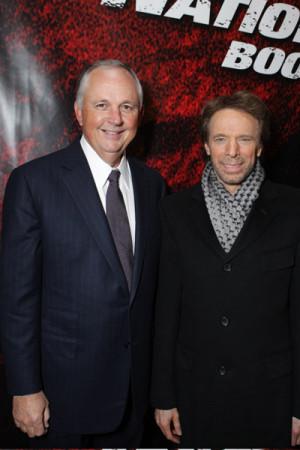 Jerry Bruckheimer with Robert Cook