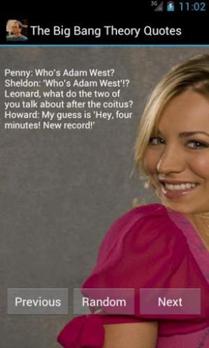 View bigger - The Big Bang Theory Quotes for Android screenshot