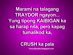 Quotes About Crushes On A Boy. Patama Quotes Sa Kaaway Images. View ...