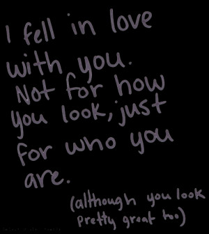 quotes you i love you boy you and i fall in love in love love quotes ...
