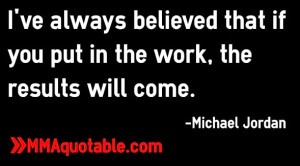 Michael Jordan Hard Work Quote