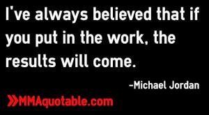 Michael Jordan Hard Work Quote