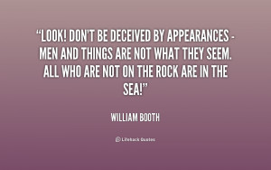 Appearances Can Be Deceiving Quotes