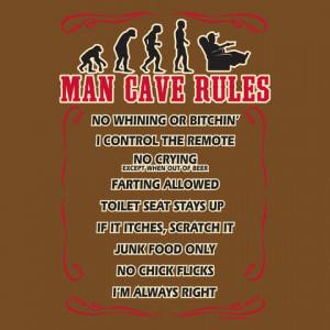 man cave rules t shirt tweet man cave rules very funny t shirt ok ...