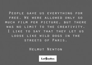 HELMUT NEWTON QUOTES