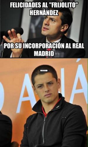 Los Mejores Memes De La Llegada Del 'Chicharito' Al Real Madrid