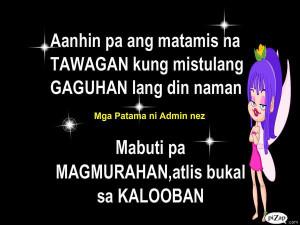 Tagalog Patama Sa Kaaway Quotes